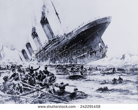 stock-photo-sinking-of-the-ocean-liner-the-titanic-witnessed-by-survivors-in-lifeboats-may-242291458
