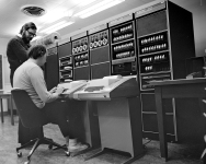 Ken_Thompson_(sitting)_and_Dennis_Ritchie_at_PDP-11_(2876612463)